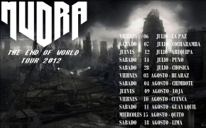 Peru Metal _ Mudra _ The End Of World Tour 2012