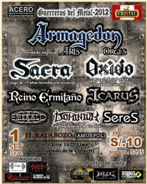 PeruMetal - Gerreros del Metal 2012