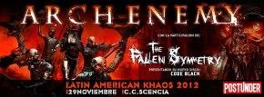 PeruMetal _ Arch Enemy _ 2012 _ Banner