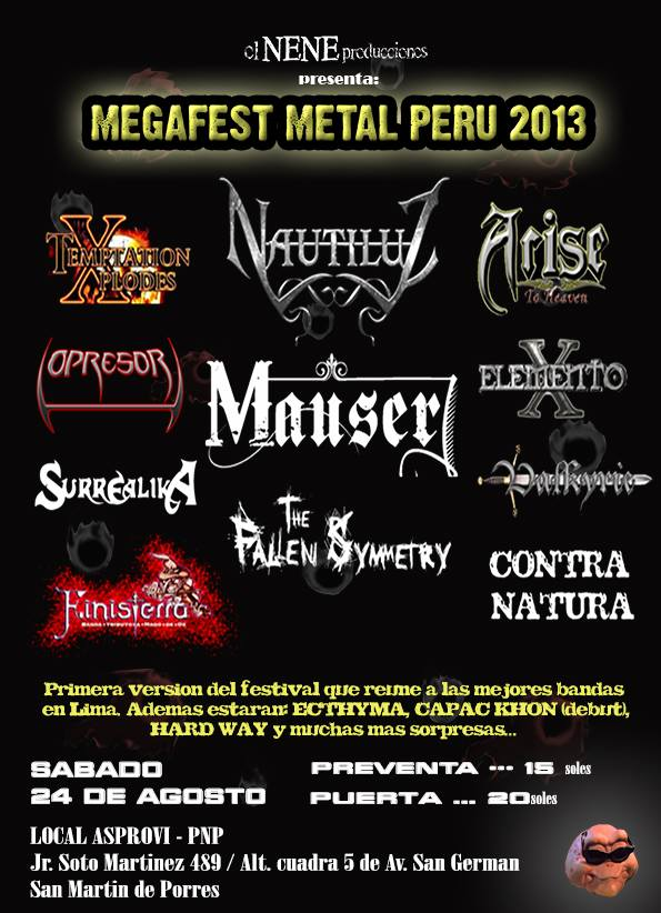 PeruMetal_MEGAFEST METAL PERU 2013_2013