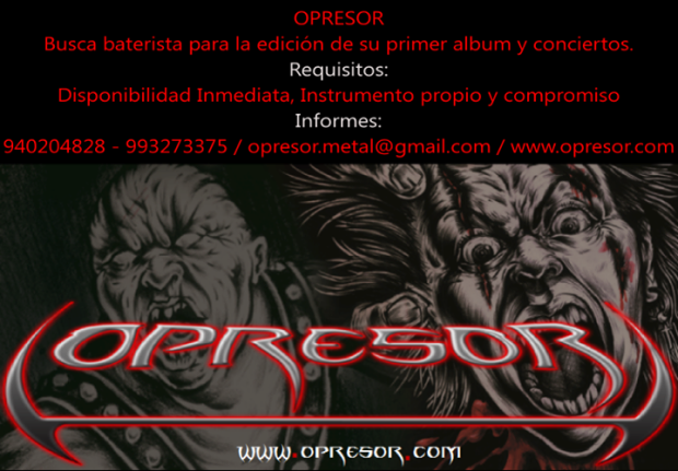 opresor.com_Busca_Baterista